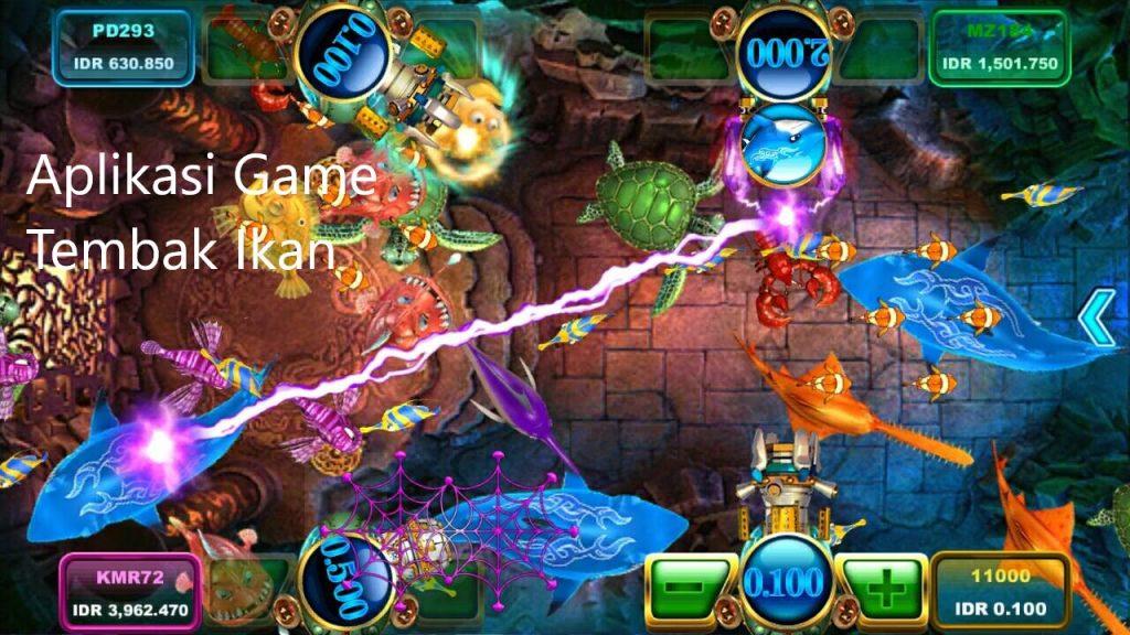 Aplikasi Game Tembak Ikan